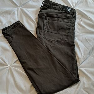 AEO Olive Green Jegging